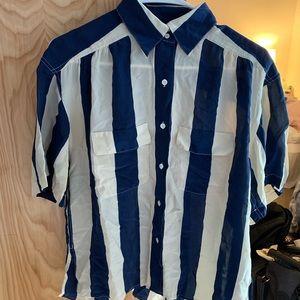 VINTAGE Liz Claiborne silk blouse